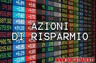 Azioni di Risparmio trading