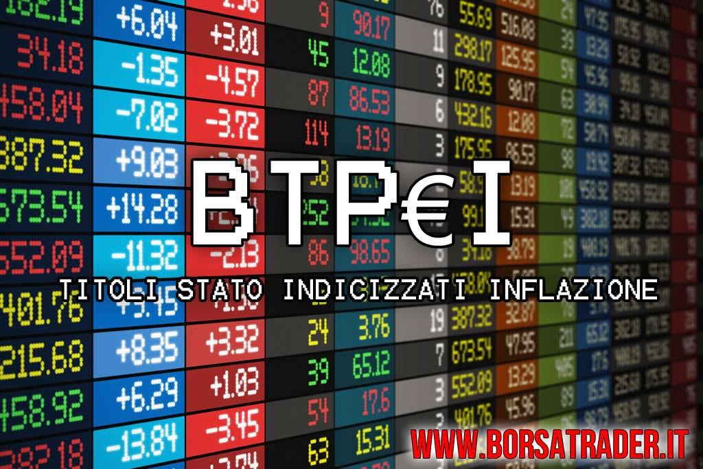 0080a90697 Titoli di Stato indicizzati all'inflazione BTP€i - guida Trading Online