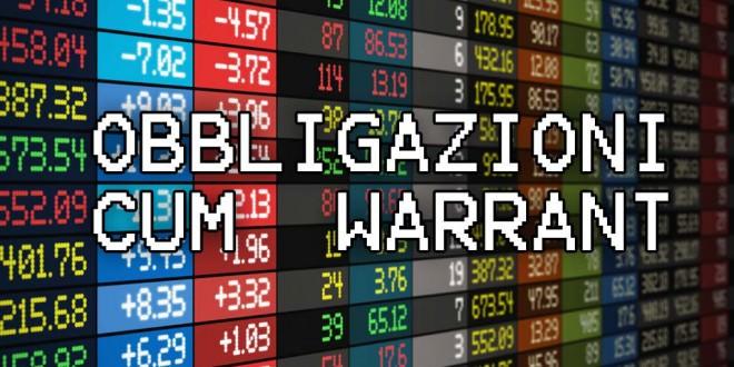 """Obbligazioni """"cum-warrant"""""""