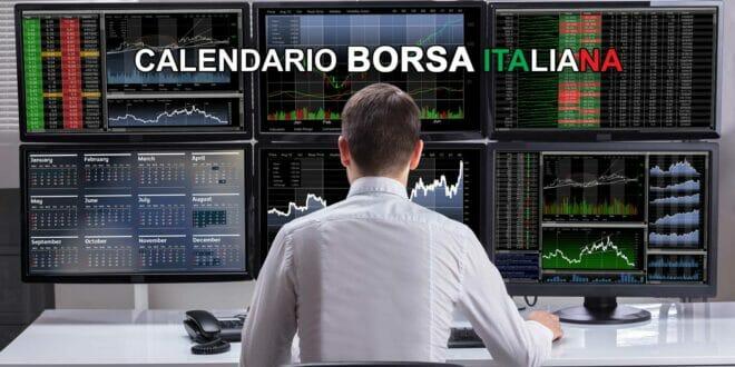 Calendario Borsa Italiana